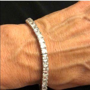 Jewelry - Sterling silver CZ tennis bracelet